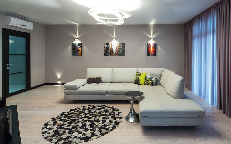 интерьер гостиной - фото № 65314