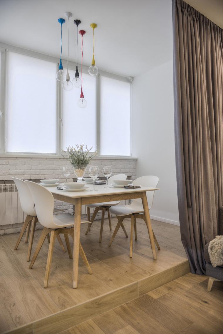 Квартира. столовая из проекта , фото №65016