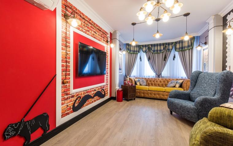 интерьер гостиной - фото № 65097