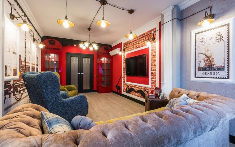 интерьер гостиной - фото № 65090