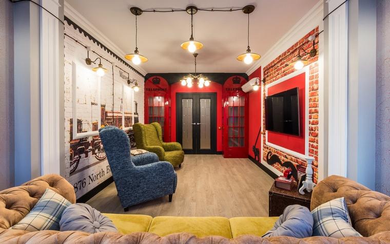 интерьер гостиной - фото № 65091