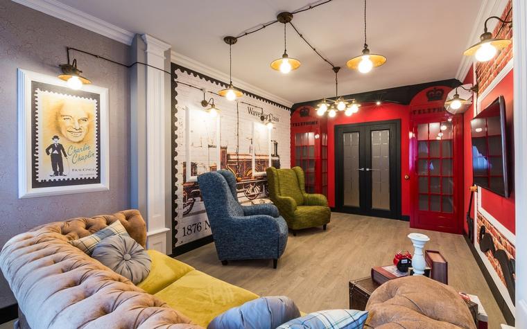 интерьер гостиной - фото № 65092