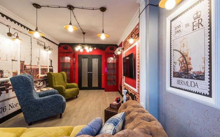 интерьер гостиной - фото № 65094