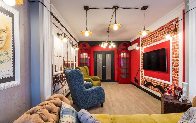 интерьер гостиной - фото № 65095