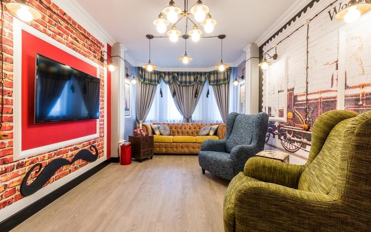 интерьер гостиной - фото № 65098
