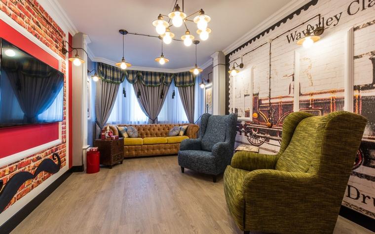 интерьер гостиной - фото № 65100