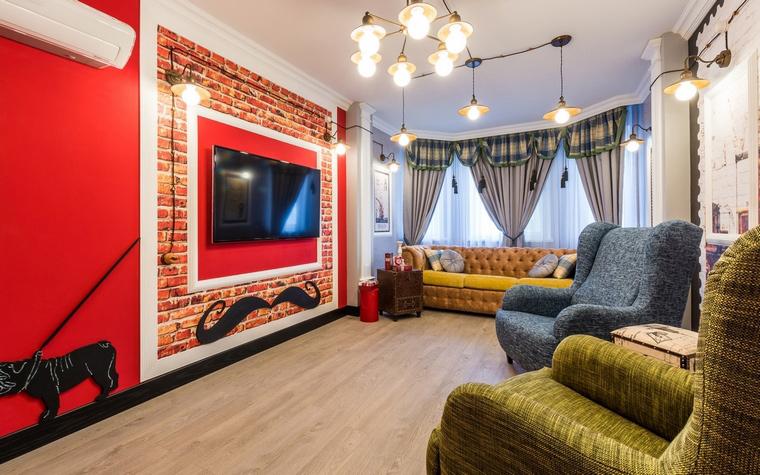 интерьер гостиной - фото № 65102