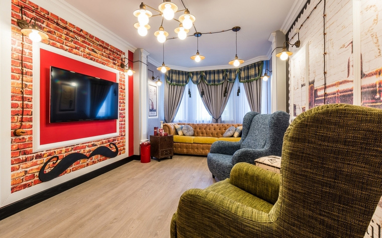 интерьер гостиной - фото № 65101