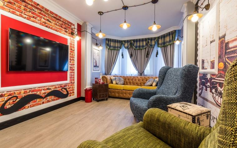 интерьер гостиной - фото № 65104
