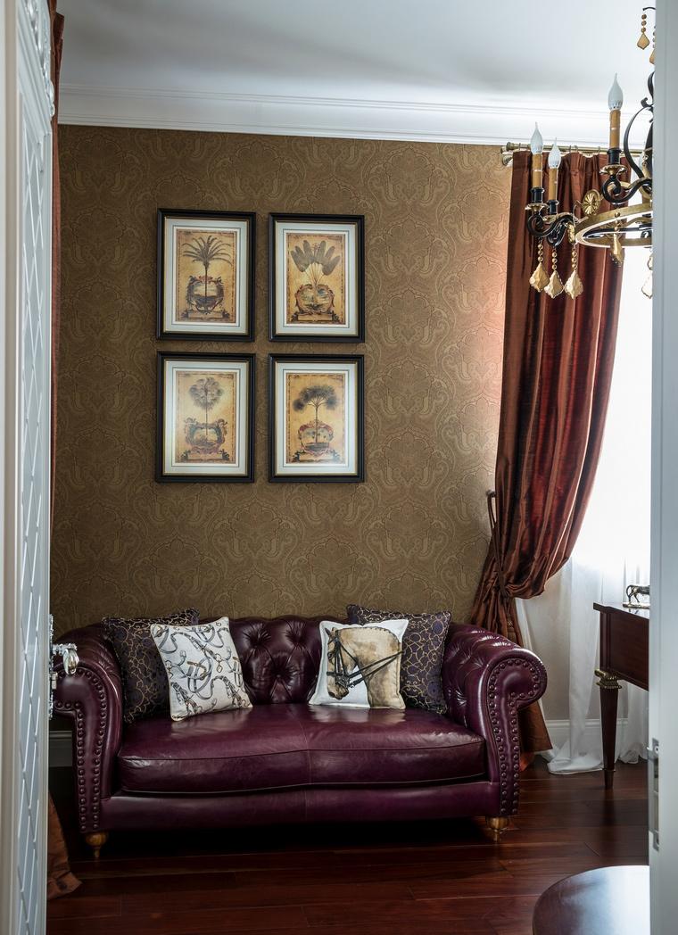 Квартира. кабинет из проекта , фото №65118