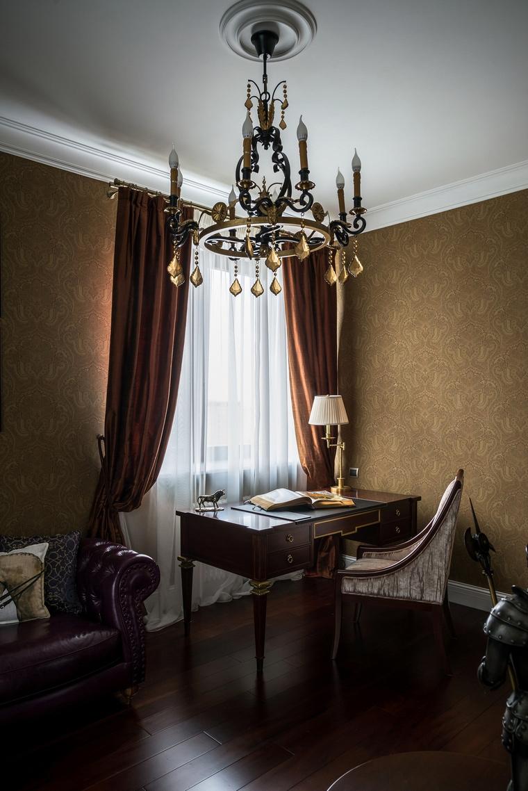 Квартира. кабинет из проекта , фото №65119
