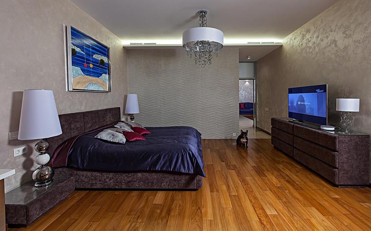 Квартира. спальня из проекта , фото №65153
