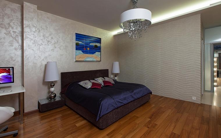 Квартира. спальня из проекта , фото №65154
