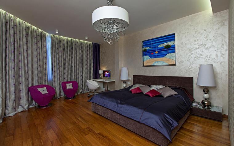 Квартира. спальня из проекта , фото №65150