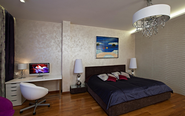 Квартира. спальня из проекта , фото №65151