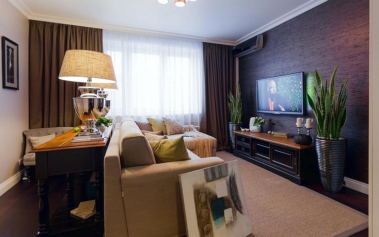 Фото № 65309 гостиная  Квартира