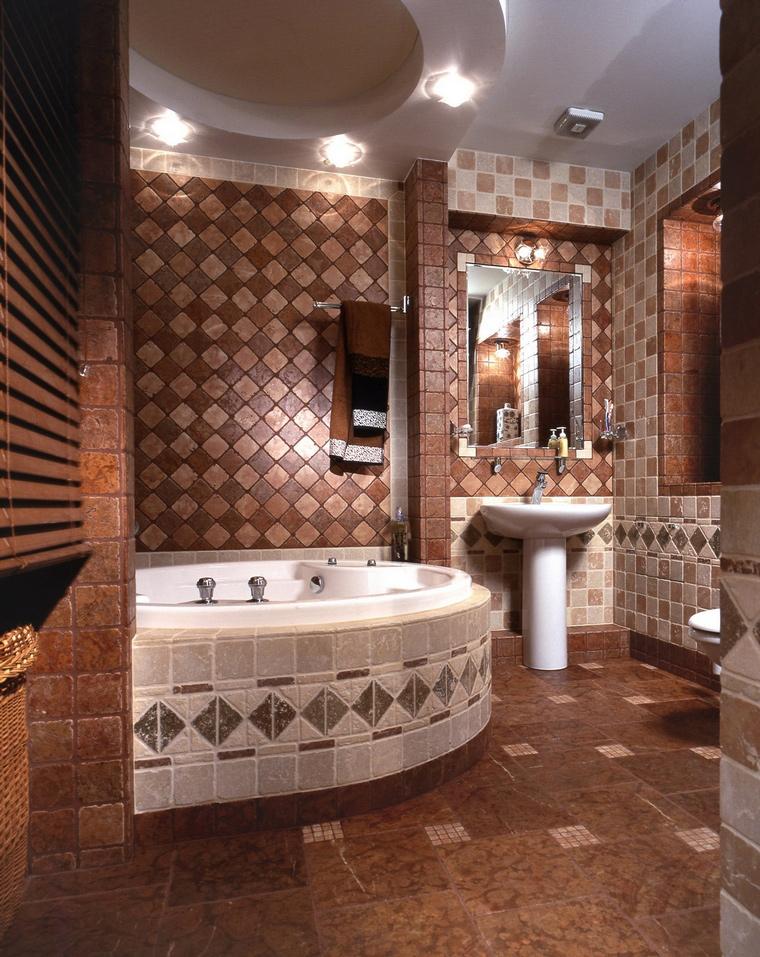 Фото № 65331 ванная  Квартира