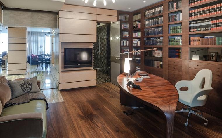 Фото № 65352 кабинет библиотека  Квартира