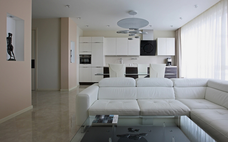 Фото № 65380 гостиная  Квартира