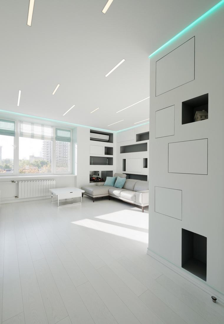 Квартира. гостиная из проекта , фото №65430