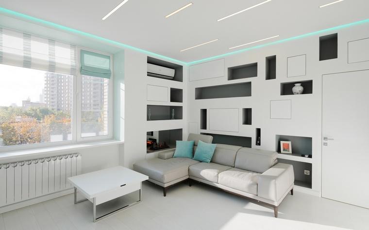 Квартира. гостиная из проекта , фото №65431