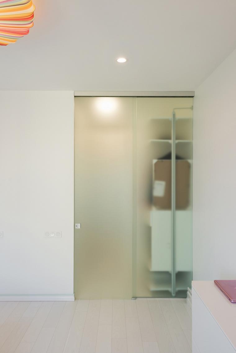 Квартира. спальня из проекта , фото №65440