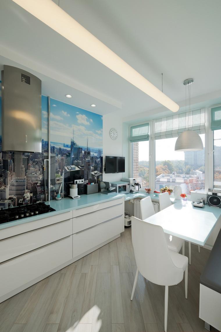 Квартира. кухня из проекта , фото №65442