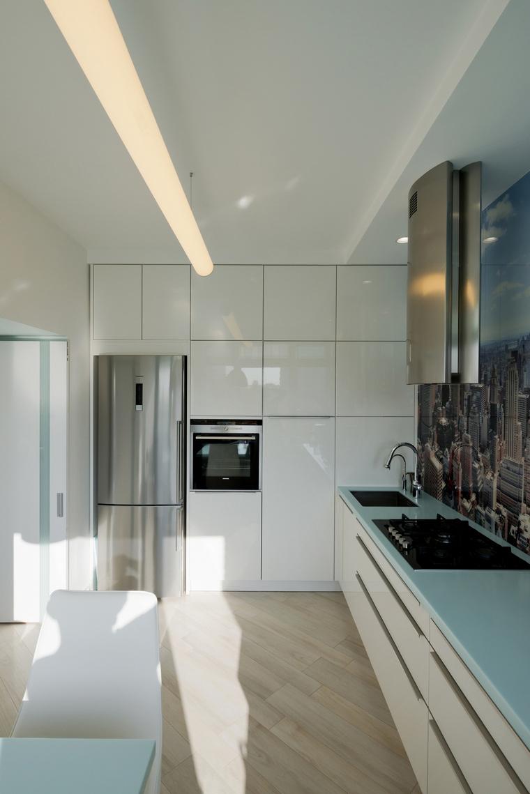 Квартира. кухня из проекта , фото №65443