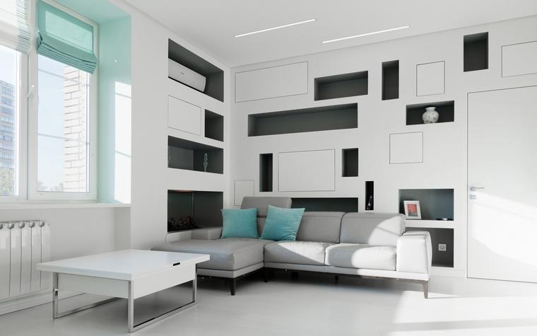 Квартира. гостиная из проекта , фото №65432