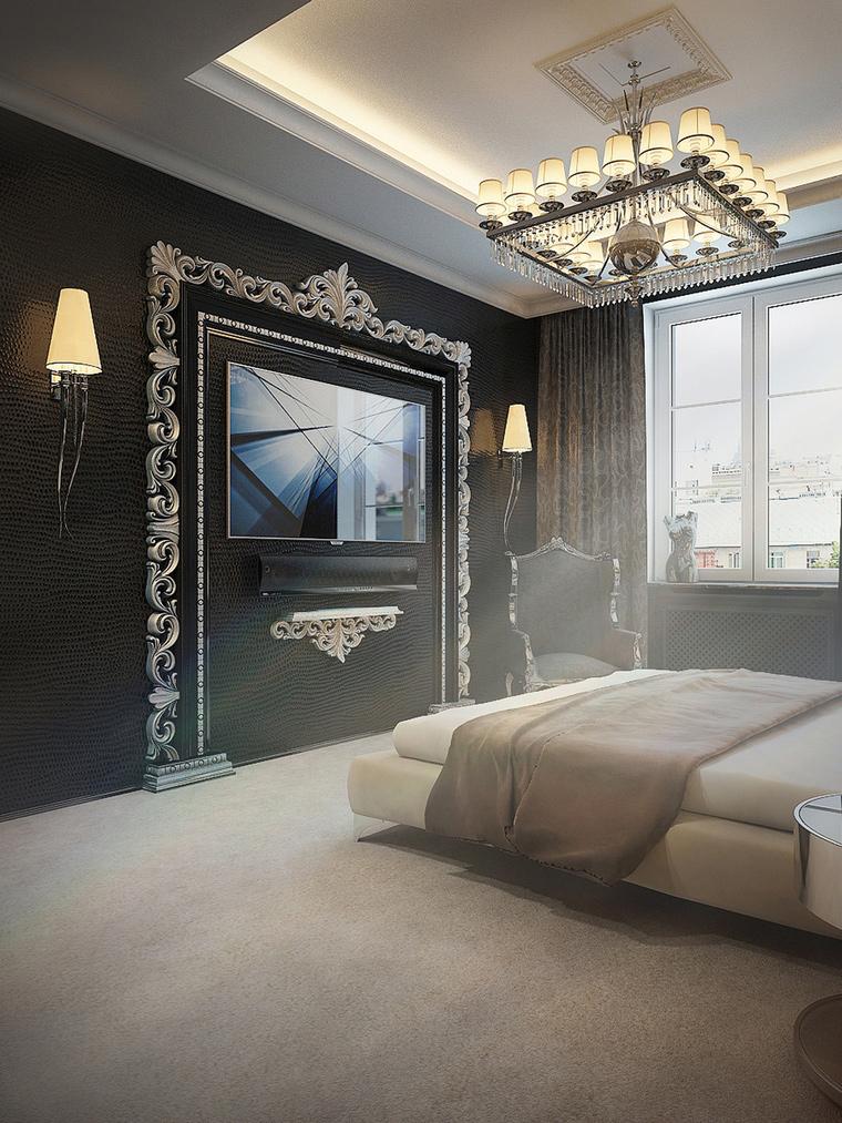 интерьер спальни - фото № 65468