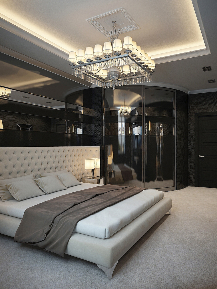 интерьер спальни - фото № 65469