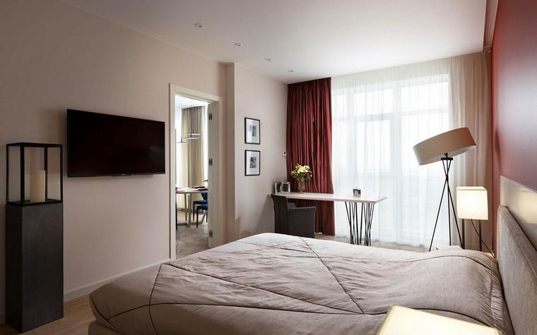 интерьер спальни - фото № 65477