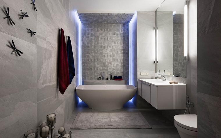 Квартира. ванная из проекта , фото №65475
