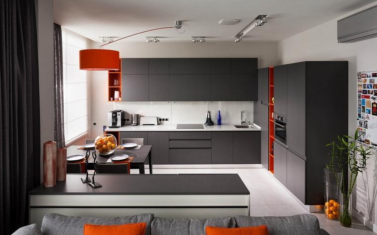 Фото № 65484 кухня  Квартира