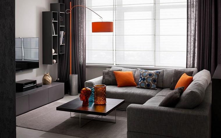Фото № 65482 гостиная  Квартира