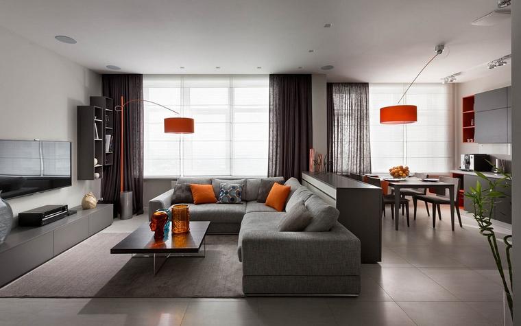 Фото № 65483 гостиная  Квартира