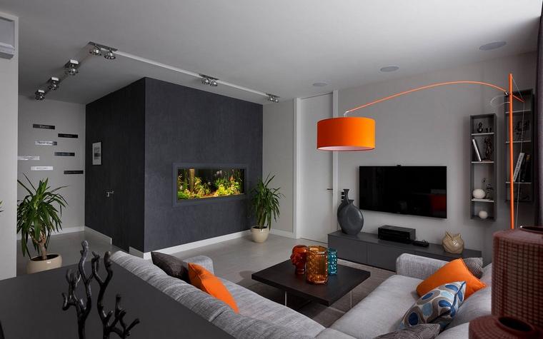 Фото № 65480 гостиная  Квартира