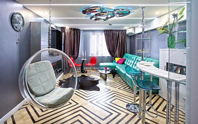 интерьер гостиной - фото № 65488