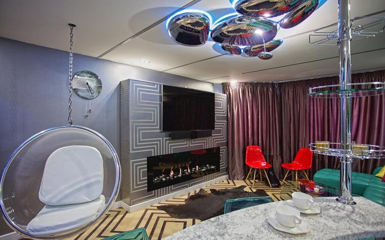 интерьер гостиной - фото № 65489