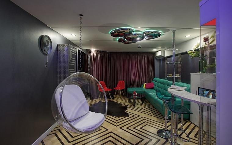 интерьер гостиной - фото № 65490