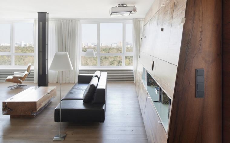 Квартира. гостиная из проекта , фото №65552