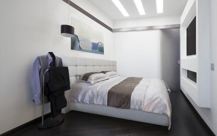 интерьер спальни - фото № 65636