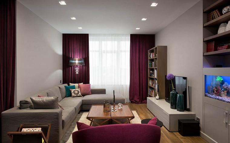 интерьер гостиной - фото № 65651