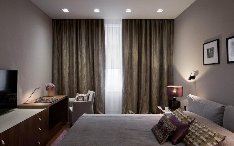 интерьер спальни - фото № 65655