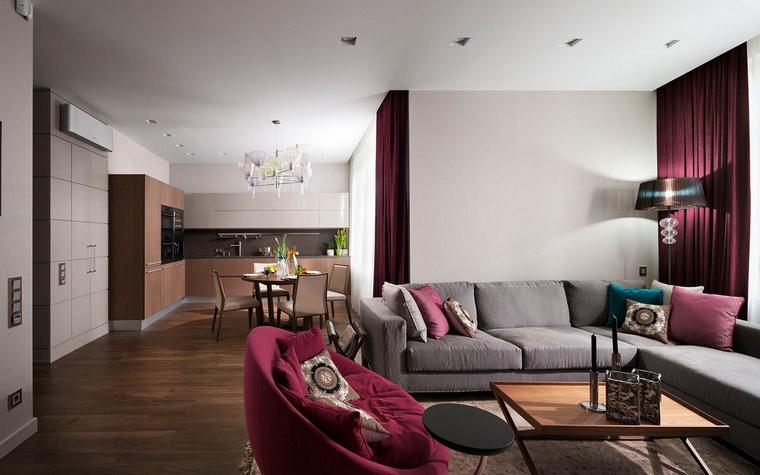 интерьер гостиной - фото № 65650