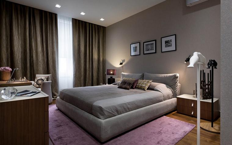 интерьер спальни - фото № 65656