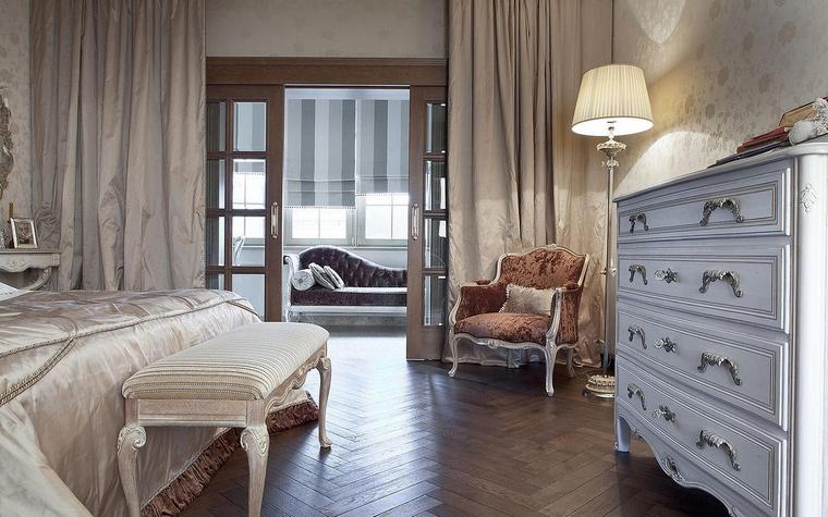 интерьер спальни - фото № 65684
