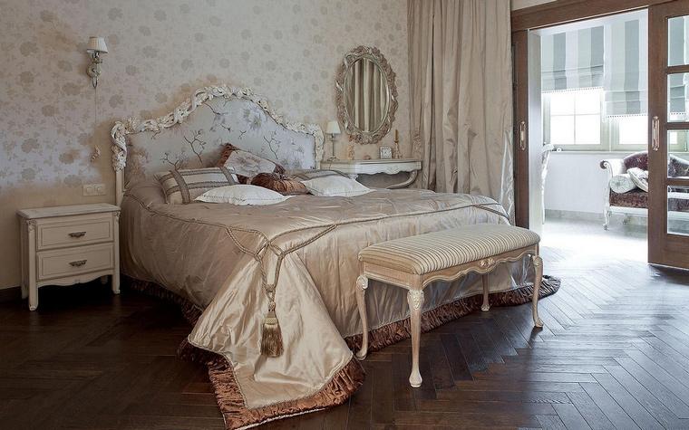 интерьер спальни - фото № 65680