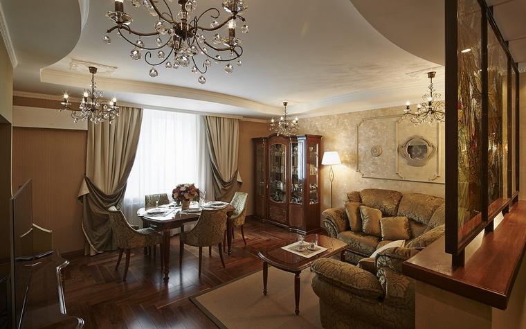 Фото № 65705 гостиная  Квартира