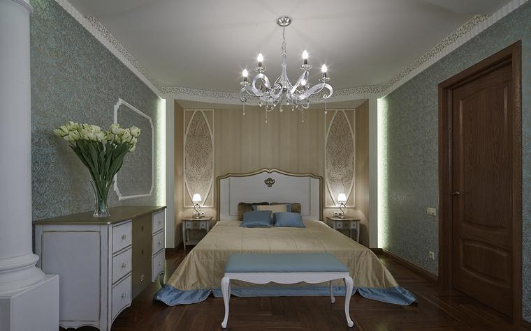 интерьер спальни - фото № 65707